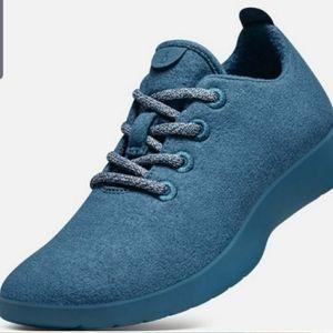 Allbirds teal sneakers